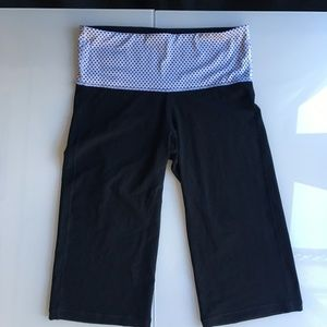 Lululemon Crop Pants Black